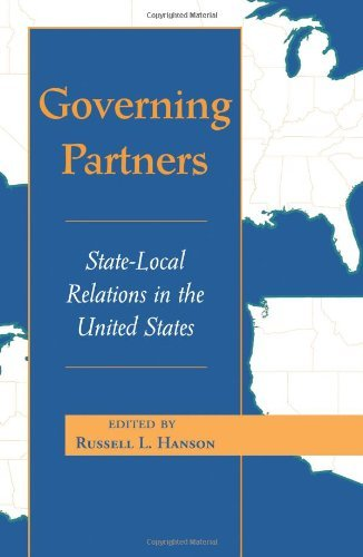 Russell L. Hanson Governing Partners State Local Relations In The U.S.