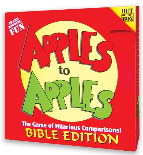 Rob Anderson Apples To Apples Card Game Bible