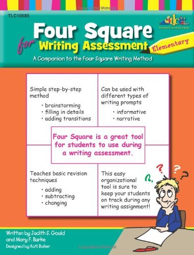 Judy Gould Four Square Elementary Assessment A Companion To The Four Square Writing Method