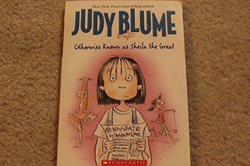 Judy Blume Otherwise Known As Sheila The Great