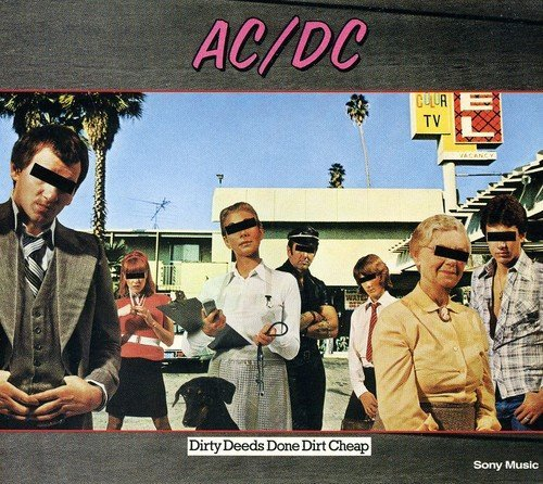 Ac Dc Dirty Deeds Done Dirt Cheap Import Gbr