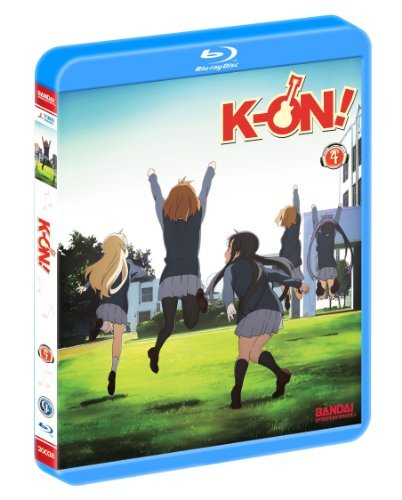 K On! Vol. 4 Blu Ray Jpn Lng Eng Dub Sub Pg13