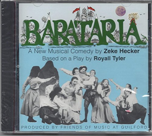 Royall Tyler Barataria A New Musical Comedy