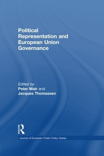 Peter Mair Political Representation And European Union Govern