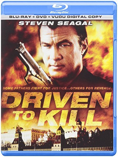Driven To Kill Bonus DVD Conte Segal Steven R 2 Br