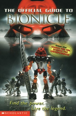 Greg Farshtey The Official Guide To Bionicle