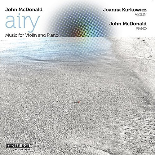 J. Mcdonald Airy Music For Violin & Piano