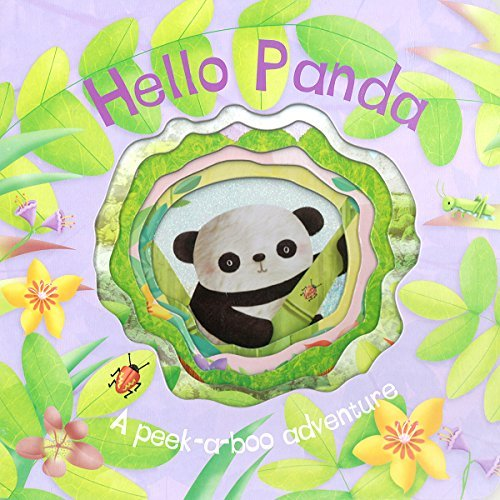 Parragon Books Hello Panda (die Cut Animal Board)