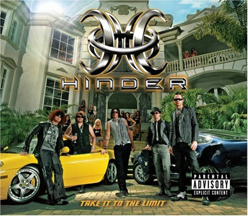 Hinder Take It To The Limit Explicit Deluxe Ed R Rated Incl. Bonus DVD