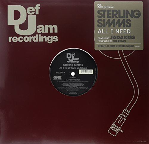 Simms Sterling All I Need Feat. Jad