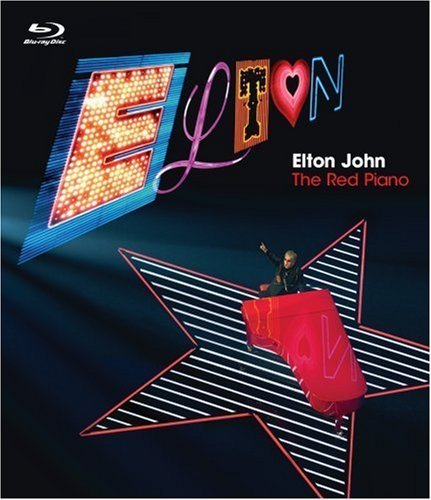 Elton John Red Piano Clr Blu Ray