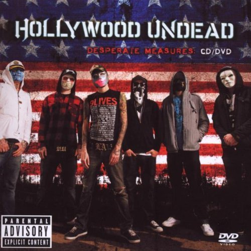 Hollywood Undead Desperate Measures Explicit Version Incl. Bonus DVD