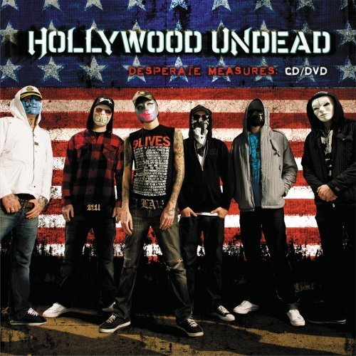 Hollywood Undead Desperate Measures Clean Version Incl. Bonus DVD