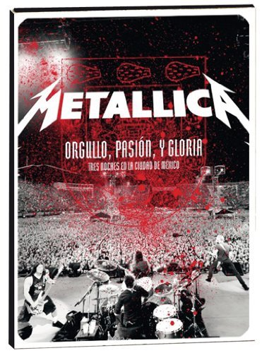 Metallica Orgullo Pasin Y Gloria Live In Import Eu Ntsc