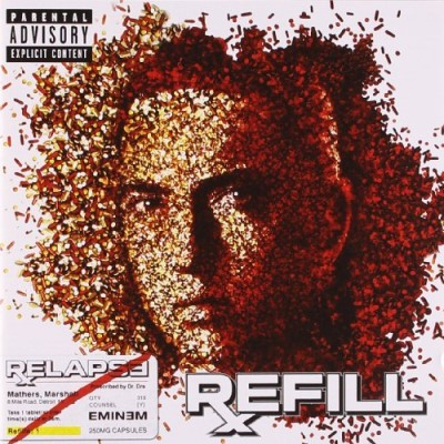 Eminem Relapse Refill Explicit Version 2 CD