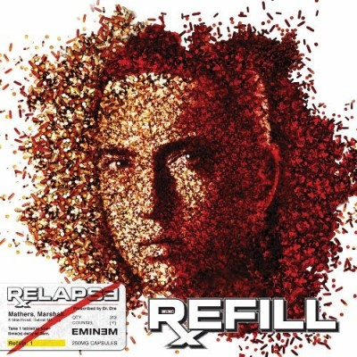 Eminem Relapse Refill Clean Version 2 CD