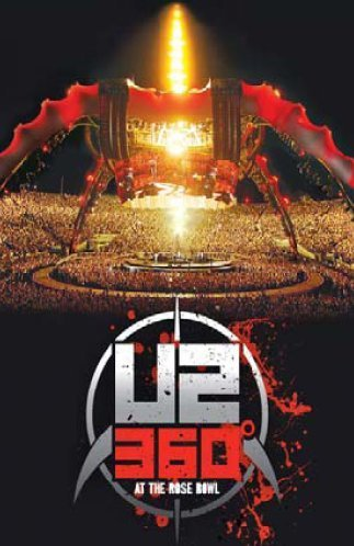 U2 360 At The Rose Bowl 6 Panel Digipak In Slipcase 2 DVD