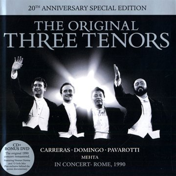 Three Tenors Three Tenors In Concert 20th A Incl. Bonus DVD