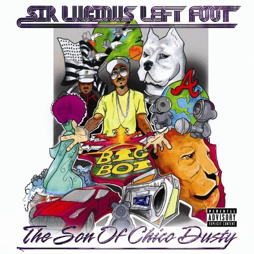Big Boi Sir Lucious Left Foot The Son Explicit Version 2 Lp