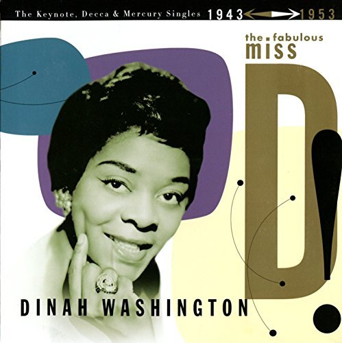 Dinah Washington 1943 53 Fabulous Miss D! Keyno 4 CD