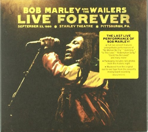 Bob Marley & The Wailers Live Forever The Stanley Thea Deluxe Ed. 2 CD