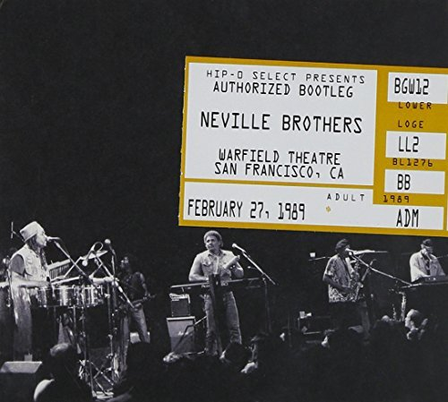 Neville Brothers Authorized Bootleg Warfield Th 2 CD