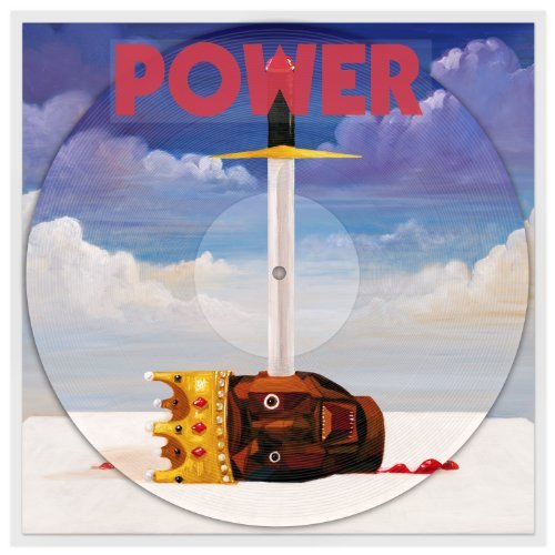 Kanye West Power Explicit Picture Disc Clear Sleeve
