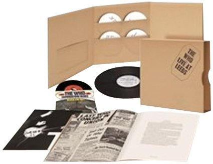 Who Live At Leeds 4 CD Lp 7 Super Deluxe