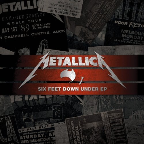 Metallica Six Feet Down Under Import Aus