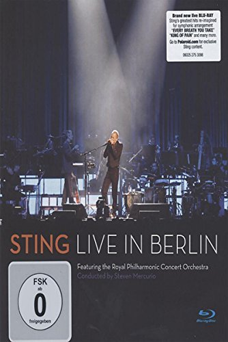 Sting Sting Live In Berlin Blu Ray Nr