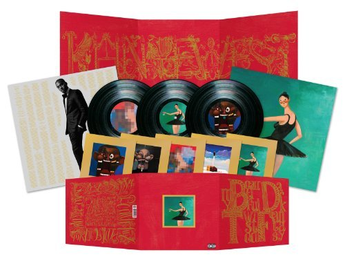 Kanye West My Beautiful Dark Twisted Fantasy Explicit Version 3 Lp