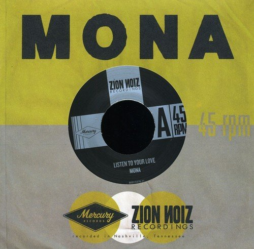 Mona Listen To Your Love All This T 7 Inch Single