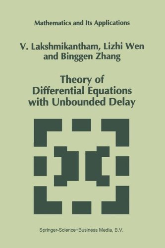 V. Lakshmikantham Theory Of Differential Equations With Unbounded De Softcover Repri