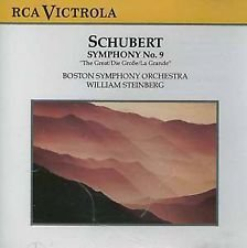 Franz Schubert William Steinberg Boston Symphony O Schubert Symphony No. 9 In C Major D. 944 (the G