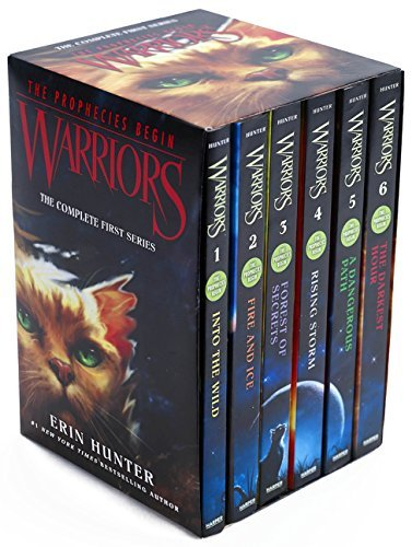 Erin Hunter Warriors Box Set Volumes 1 To 6 The Complete First Series