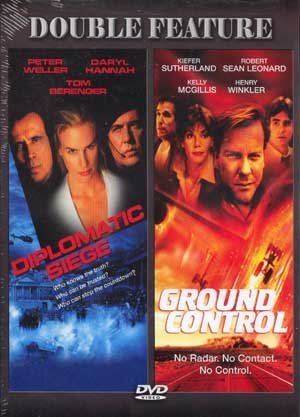 Peter Weller Daryl Hannah Tom Berenger Kiefer Suth Diplomatic Siege & Ground Control Double Feature
