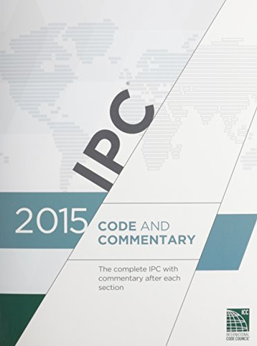 International Code Council 2015 International Plumbing Code Commentary (inclu