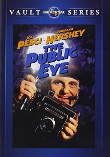 Public Eye Pesci Hershey DVD Mod This Item Is Made On Demand Could Take 2 3 Weeks For Delivery
