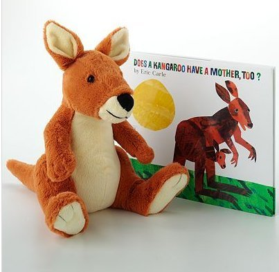 Eric Carle Eric Carle Does A Kangaroo Have A Mother Too? Book