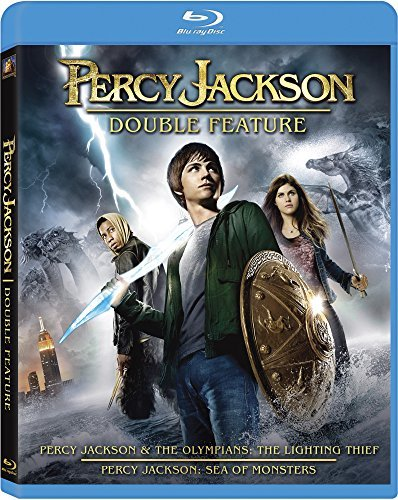 Percy Jackson Double Feature Blu Ray