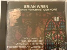 Brian Wren Brian Wren Selections From Christ Our Hope