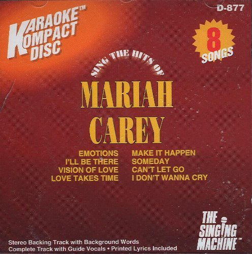 The Singing Machine The Sing The Hits Of Mariah Carey Karaoke