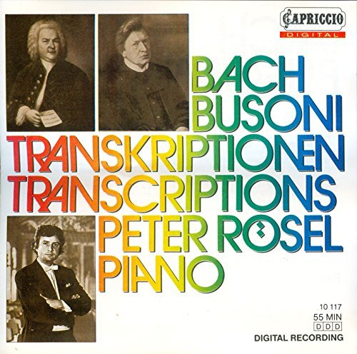 F. Busoni Bach Piano Transcriptions