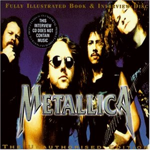 Metallica Interview CD & Fully Illustrated Book