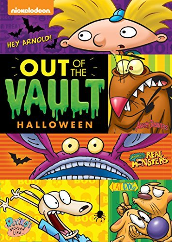Nickelodeon Out Of The Vault Halloween Collection DVD