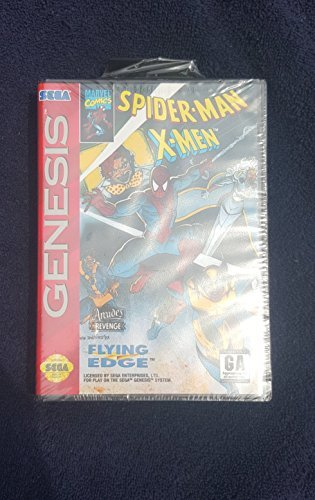 Sega Genesis Spiderman X Men Arcade's Revenge