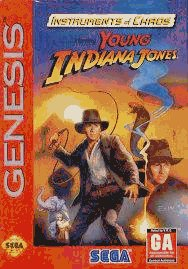 Sega Genesis Instruments Of Chaos Starring Young Indiana Jones
