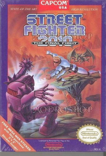 Nes Street Fighter 2010 The Final Fight