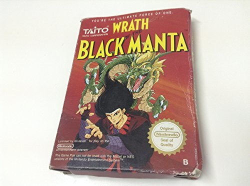 Nes Wrath Of The Black Manta