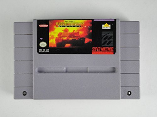Super Nintendo Super Battletank War In The Gulf